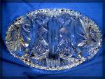 Click to view larger image of Glass Brilliant Cut Crystal dish (Image3)