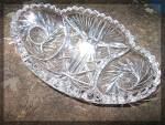 Click to view larger image of Glass Brilliant Cut Crystal dish (Image5)
