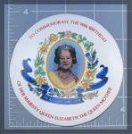Click here to enlarge image and see more about item 1118201001: Queen Mother, Wade trinket box, 90th Birthday