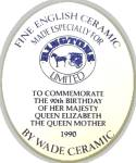 Click to view larger image of Queen Mother, Wade trinket box, 90th Birthday (Image5)