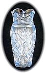 Click here to enlarge image and see more about item 1120200605: CUT GLASS VASE.....
