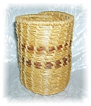 Click here to enlarge image and see more about item 1123200509: HAND MADE WOVEN BASKET - PAPAGO
