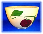 Click to view larger image of OVEN WARE POTTERY 2 LEAF APPLE MIXING BOWL 65 ...... (Image1)