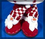 Click to view larger image of Santa Doll with present bag and fancy shoes (Image5)