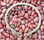 Click to view larger image of Sterling Silver Woven Bracelet Hook Clasp (Image1)