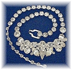 Necklace  EISENBERG ICE Crystal 50s