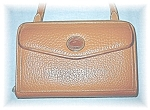 Tan Dooney & Bourke Zipper Shoulder Wallet