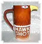 Click here to enlarge image and see more about item 1202200509: 1970 SMIRNOFF HAWK SHOT PITCHER