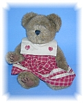 Click here to enlarge image and see more about item 1205200660: 12 Inch Boyds Lady Teddy Bear.