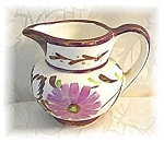 Click here to enlarge image and see more about item 1206200427: Tiny Lusterware Grays Pottery Flowrer Pitcher