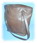 Click to view larger image of COACH Leather Bucket Bag Tobacco Brown  (Image1)