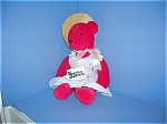 Click here to enlarge image and see more about item 1207200548: 1980 North American SCARLET O'BEARA Bear