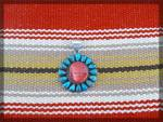 Click to view larger image of Sterling Silver Red Spiny Oyster Turquoise RAY YAZZIE P (Image7)