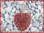 Click to view larger image of Sterling Silver Red Spiny Oyster  Heart Pendant TED JOE (Image6)