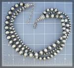 Click to view larger image of Necklace Sterling Silver 3 Strand Beads (Image2)