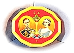Click here to enlarge image and see more about item 1220200309: Queen Mother & King George VI 1939 Tin