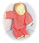 Vintage Key Wind Lullabye Roll Over Doll