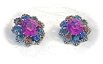 Brilliant Jewel Austrian Crystal Clip Earrings