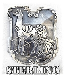 Click to view larger image of Brooch  Peruvian Sterling Silver Signed CHAVEZ (Image1)