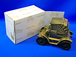 BANK - Antique Auto Coin Bank 1900 pillbox coupe bank