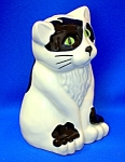Click here to enlarge image and see more about item 1227200702: Money Bank, WADE, - cat - made in England . . .  .