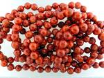 Necklace Apple Coral 77 Inches 8mm