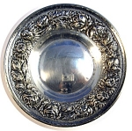 Click to view larger image of STIEFF IS SILVER - STERLING SILVER BON BON BOWL...... (Image1)