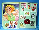 Click here to enlarge image and see more about item 1229200709: Scrapbook From the 1930s Grace Holmes