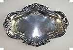 Click here to enlarge image and see more about item 1230200604: WALLACE STERLING MEADOW ROSE CANDY DISH.1907..