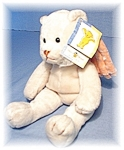 Click to view larger image of Small Mary Meyer Angel Bean Filled Bear (Image1)