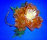 Click here to enlarge image and see more about item 1231200608: VINTAGE FLOWER  DECORATION . . . . .