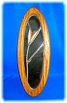 Click to view larger image of SIGNED STAINED GLASS MIRROR FRAMED. . . . (Image1)