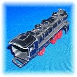 Click to view larger image of VINTAGE  CAST IRON TOY TRAIN LOCOMOTIVE  . . . . . (Image1)