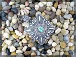 Click to view larger image of Native American Sterling Silver Turquoise Darryl Becent (Image4)