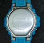 Click to view larger image of B- Shock Turquoise Water Resist  Wristwatch Casio (Image4)