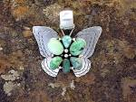 CARICO LAKE Sterling Silver D. Livingston Butterfly