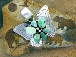 Click to view larger image of CARICO LAKE Sterling Silver D. Livingston Butterfly (Image6)