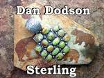 Click to view larger image of Gaspeite Sterling Silver Pendant By Dan Dodson (Image7)