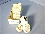 Click here to enlarge image and see more about item 352004u: Mrs Day Ideal Baby Shoes In Original Box