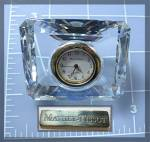 Click to view larger image of MATHEY TISSOT Crystal Desk Clock (Image2)