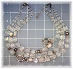 Click to view larger image of Necklace Rock Crystals Sterling Silver Pearls SILPADA (Image6)