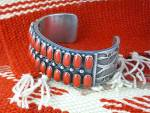 Click to view larger image of KIRK SMITH Mediterranean Coral Sterling Silver Bracelet (Image7)