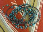 Click to view larger image of Necklace Spiny Oyster Turquoise Heishi Santo Domingo  (Image4)