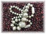 Click to view larger image of Native American Navajo Pearls Sterling Silver Stamped B (Image2)