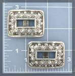 Click to view larger image of Silver Square Concho's (Image1)