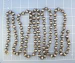 Click to view larger image of Taxco Mexico Sterling Silver Beads 62 Inches 90 Grams (Image1)