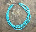 Necklace Sleeping Beauty Turquoise Sterling Silver
