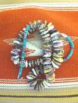 Click to view larger image of Necklace Purple Spiny Oyster Turquoise Sterling Silver  (Image5)