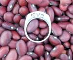 Click to view larger image of Sterling Silver LOVE Signed Ring (Image4)