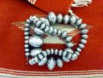 Click to view larger image of Native American Navajo Pearls Sterling Silver RY (Image2)
